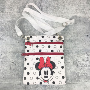 Disney | Minnie Mouse Polka Dot Crossbody Bag